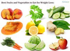 les meilleurs fruits et légumes pour perdre du poids