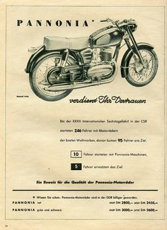 technisch blad European Motorcycles, Vintage Motorcycles, Cars And Motorcycles, Advertising Ads, Vintage Advertisements, Love Posters, Vintage Posters, Motorcycle Posters, Bike Rider