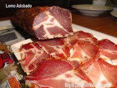 Lomo Adobado Casero | Mi Rincón de Recetas Cooking Time, Cooking Recipes, Chorizo Sausage, Salty Foods, Smoking Meat, Charcuterie, Food Truck, Tapas, Food And Drink