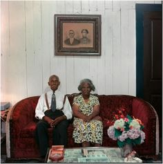 Mr. and Mrs. Albert Thornton. Mobile, Ala., 1956 by Gordon Parks