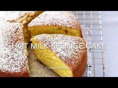 Hot milk sponge cake (Torta al latte caldo) | Chiarapassion