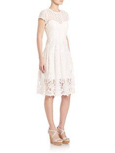 Parker - Talulah Lace Midi Dress