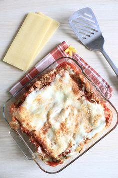 lasagnes au thon et poivrons Ww Recipes, Clean Recipes, Cooking Recipes, Healthy Recipes, Pasta Recipes, Healthy Food, Plats Weight Watchers, Weight Watchers Meals, Batch Cooking