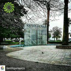 È sempre un onore far parte di questa gallery! In grazie infinito a @bestliguriapics e a @chiarasinclair per il repost! -------- @Regrann from @bestliguriapics -  COMPLIMENTI a @ziriuz84  scelta da @chiarasinclair (ADMIN) FOUNDER: @quelmarietto  LOCALITÀ: #laspezia #fountain #liguria #italia #italy # #instadaily #igersoftheday #view #trees #photooftheday #partigiani #italytravel #italytrip #trip #travel #travelingram #instaliguria #travelgram #turismo #tourism #turism  #monument #igers #view…