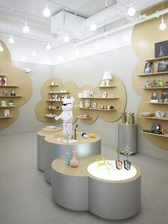 Shoe Store Design, Retail Store Design, Retail Shop, Boutique Interior, Boutique Decor, Baby Store Display, Café Bar, Cosmetic Shop, Exhibition Stand Design