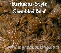 My HCG Cooking Blog - Favorite recipes and discoveries on my HCG weightloss journey: P3 Barbacoa-style Shredded Beef