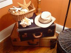 What to do with that wonderful old vintage luggage??