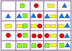 Antwoorden vormen 2, free printable Preschool Worksheets, Preschool Crafts, Activities For Kids, Sudoku, Mazes For Kids, Math Magic, Logic Puzzles, Color Games, Matrix