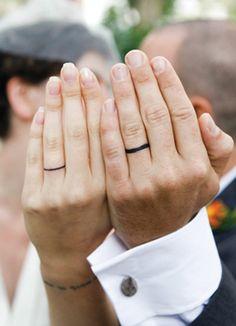 40 Awesome Wedding Band Ring Tattoos | Wedding ring tattoos, Ring ...