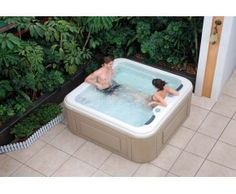 SpajacuzziexteriorAS0031A Mini piscina Pinterest Jacuzzi