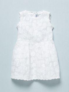 perfect little girls white lace dress