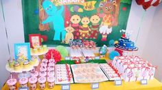 Sarah's In the Night Garden Birthday Party | CatchMyParty.com