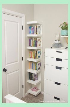 Ideas for a Shared Girl's Bedroom (…finally complete!) - Home Decoration Ideas Diy Home Decor Bedroom For Teens, Kids Bedroom Storage, Girls Bedroom Furniture, Small Room Bedroom, Room Ideas Bedroom, Small Bedroom Ideas For Girls, Bedroom Wall, Kids Storage, Master Bedroom