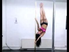 ▶ Pole Training: Power & Strength Tricks, Flips & Drops, Spinning Pole [Dec 2012] - YouTube