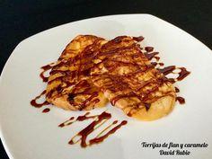 Torrijas de flan y caramelo - Recetas caseras y sencillas