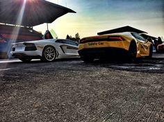 Aventador and Huracan
