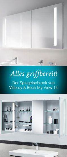Villeroy U0026 Boch My View 14: Dimmen Sie Die Integrierten LEDs In 3 Stufen Und