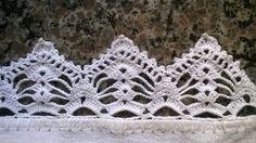 Easiest Crochet Frills Border Ever! Crochet Lace Edging, Crochet Doilies, Easy Crochet, Crochet Stitches, Knit Crochet, Crochet Classes, Crochet Projects, Knitting Patterns, Crochet Patterns