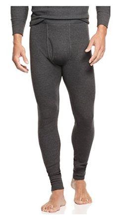 2b6db15fd22fcd Alfani Mens Waffle Knit Thermal Long Underwear Gray XXL at Amazon Men s  Clothing store