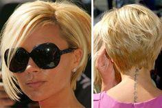 Victoria Beckham makes short hair look damn good in a world where long hair is…