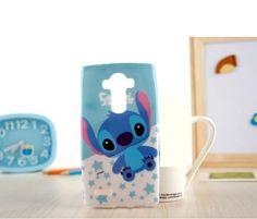 Fashion cartoon Stitch Bear soft tpu gel silicon cover case for LG Optimus LG  Beat Cover 6b3ff1a8a948