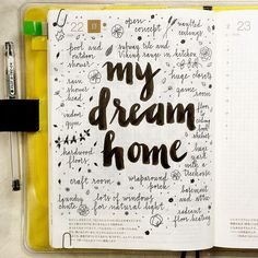 "674 Likes, 25 Comments - pepper and twine (@pepperandtwine) on Instagram: ""I love my home, but if I ever had the money to buy or design my dream home...  #hobonichi…"""