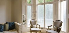 Frosted fablon window film from the Window Film Company