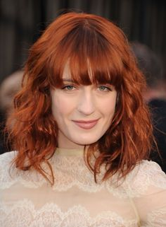 Florence Welch- Florence and the Machine - #hair bangs ...