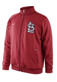 St. Louis Cardinals Nike Mens Red Track Jacket http://www.rallyhouse.com/shop/st-louis-cardinals-nike-st-louis-cardinals-nike-mens-red-track-jacket-12517099?utm_source=pinterest&utm_medium=social&utm_campaign=Pinterest-STLCardinals $65.00