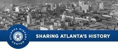 Atlanta History Center blog shares historic photos of Atlanta and interesting facts about the city and Georgia.