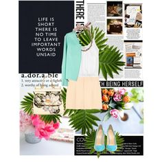 Summer 2013, created by azi-izbassarova on Polyvore