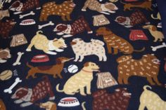 Multi Dog Fleece Fabric Dog blanket Fleece Fabric Store low price Anti Pill fleece fabric  by the yard free shipping available - SHIPS FAST by FabricPremier on Etsy
