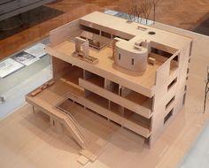 Model, Villa Stein, Garches - Le Corbusier, architectural model