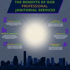 The benefits of our professional janitorial services. Janitorial Cleaning Services, Workplace Safety, Better One, Property Management, Toronto, Education, Business, Maid Services, Office Safety