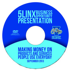 5LINX Business Opportunity | 5LINX® Business Opportunity DVD