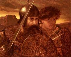 Warriors  by Joseph Noel Paton (ARC)