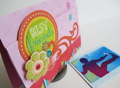 Pocket fold gift card holder by Virginia Nebel using Scor-pal and Momenta products