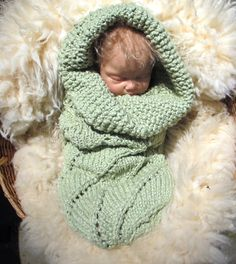 Knit Baby Bunting @Lisa Phillips-Barton Phillips-Barton Phillips-Barton Wimberly