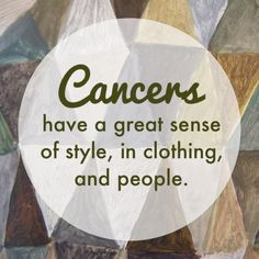 Great sense of style, in people and clothing.