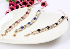 $1.12 20cm Fashion Vintage Alloy Exaggeration Inlaid Drill Bangle Chain Bracelet http://www.eozy.com/20cm-fashion-vintage-alloy-exaggeration-inlaid-drill-bangle-chain-bracelet.html