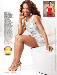 Fifty, Fit, and Fabulous!!! Wendy Ida (uh......technically, she is Sixty, Fit and Fabulous, but who's counting?)