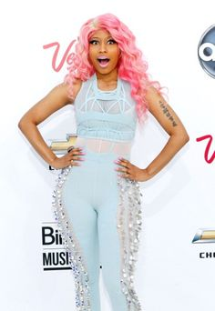 Nicki!!! Ur fashion is amaze sauce where u get ur clothes? And love ur hairstyles love how ur so different and i just love u!!! As a fan(im a girl so i dont love u like i love austin mahone)