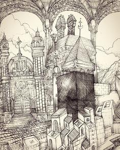 Panorama 3 #illustration