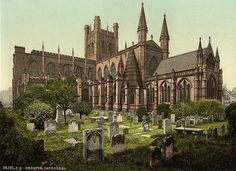 Chester Cathedral, Cheshire, England.