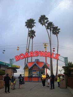 Santa Cruz Beach Boardwalk in Santa Cruz, CA