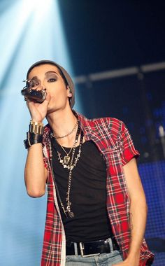 The best model and singer Bill Kaulitz❤❤❤