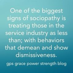 GPS-Grace Power Strength: The Epidemic Of Narcissism Cashiers Deal With