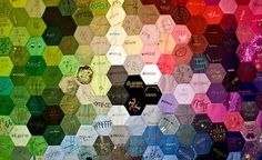 "Color ""Coding"" Wall Art"