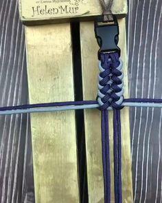 Diy Friendship Bracelets Patterns, Diy Bracelets Easy, Bracelet Crafts, Bracelet Patterns, Paracord Bracelet Designs, Paracord Bracelets, Paracord Tutorial, Bracelet Tutorial, Paracord Braids