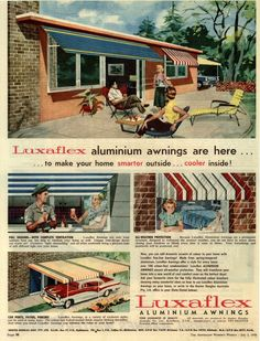 Luxaflex ad from The Australian Women's Weekly - July 2, 1958
